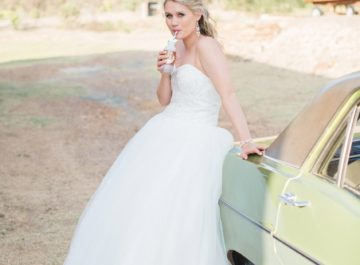 wedding dress feature