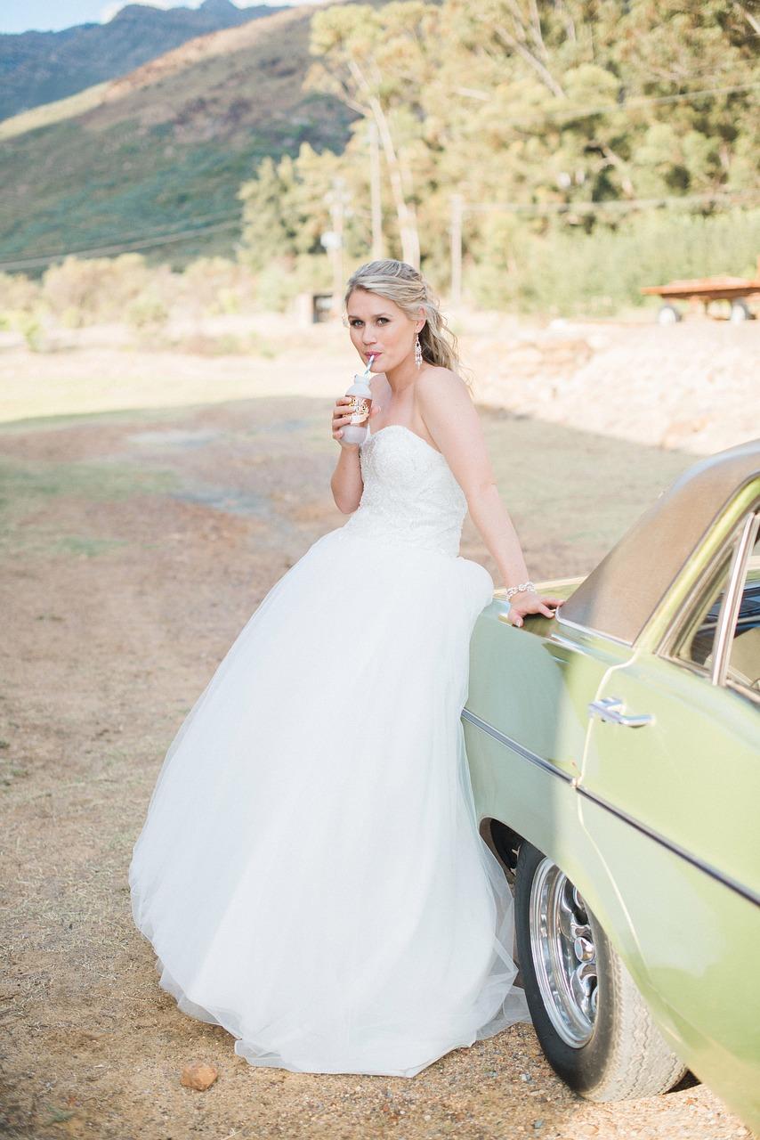wedding dress feature
